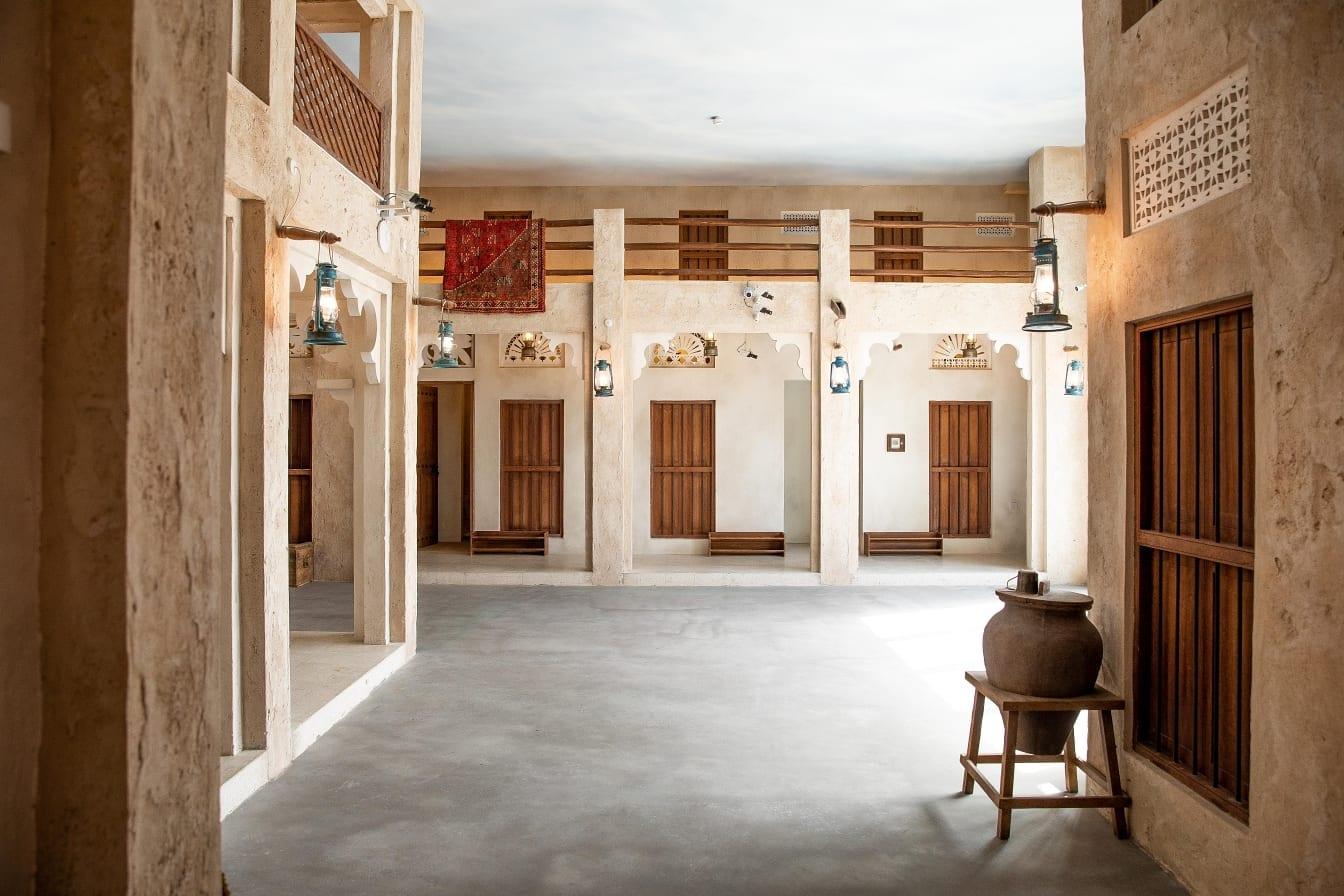 Al Fanar Al Barsha indoor seating