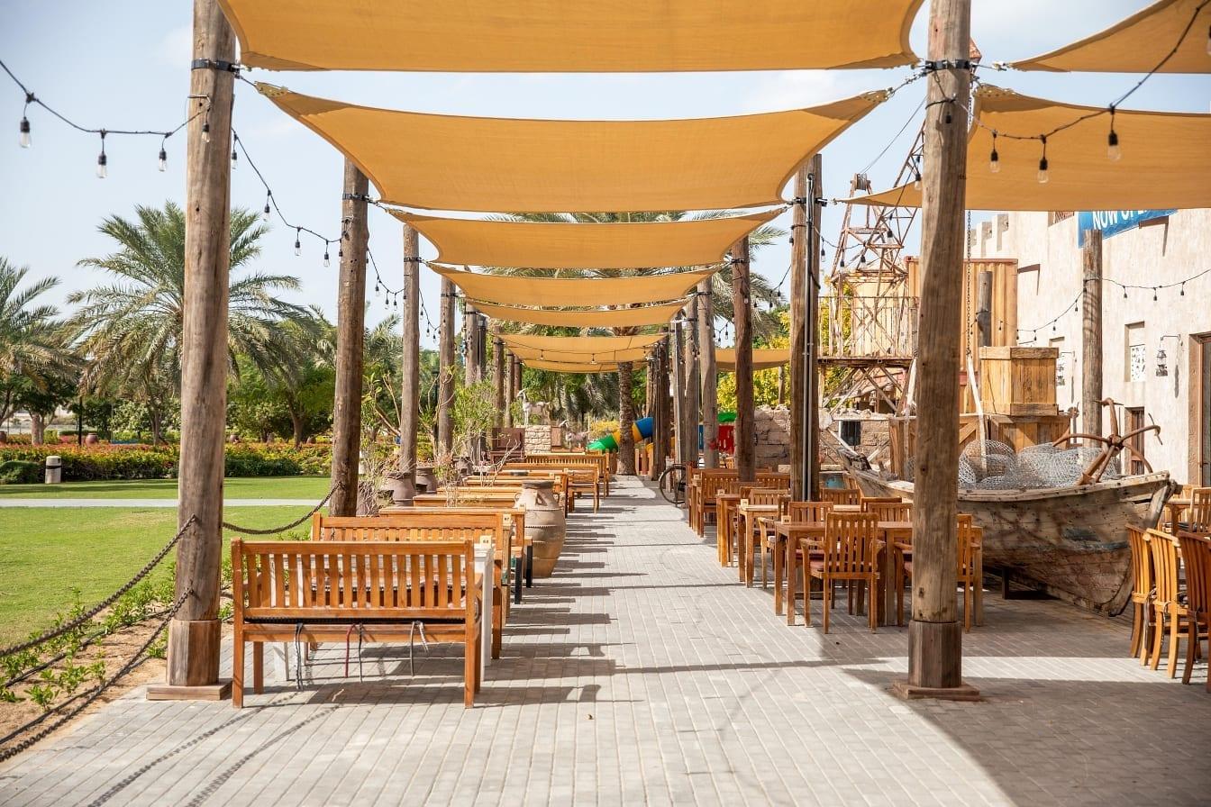 Al Fanar Al Barsha outdoor seating