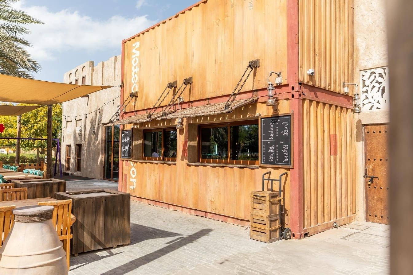 Al Barsha outdoor seating