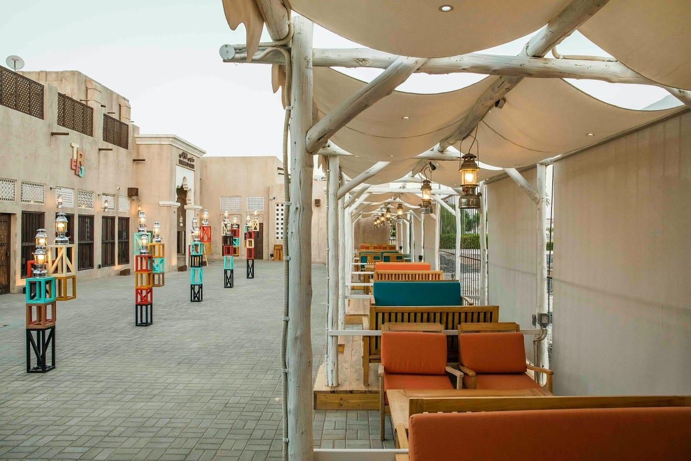 Al Fanar Al Ain outdoor Seating